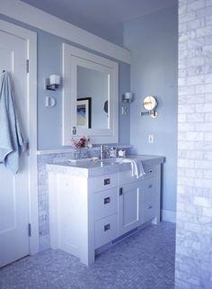 Marble Tile Bathroom | House & Home