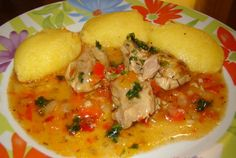 Pui cu usturoi Soup Recipes, Chicken Recipes, Cooking Recipes, Healthy Recipes, Romania Food, Lebanese Recipes, Soul Food, Food To Make, Main Dishes