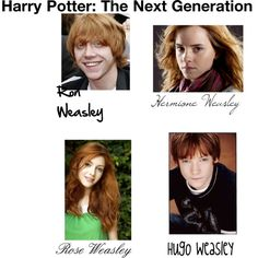 Harry Potter: The Next Generation Ron and Hermione by december-lullaby on Polyvore featuring polyvore and art