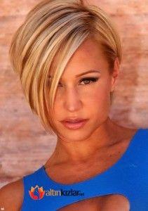 2015 Bayan Trend Kısa Saç Modelleri #saç #saçmodelleri #güzellik