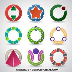 SYMBOLS-AND-LOGOTYPES-VECTOR-PACK