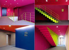cool school hallway   School of Music