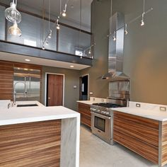 Autumn Hill Lane - modern - kitchen - burlington - Brown + Davis Design
