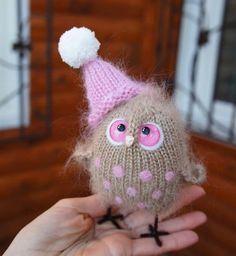 Милые вязаные совушки :) Идеи для вдохновения. Автор: Оксана Ипанова