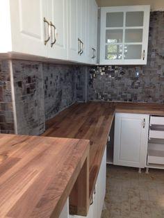 40mm natural Ceviz Masif Tezgah | ahşap mutfak tezgahı | masif mutfak tezgahları | kale masif | www.masiftezgah.com 02122525667