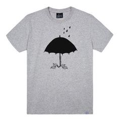 Umbrella Print T-Shirt #fashiondrop