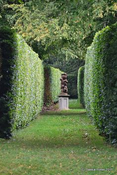 These hedge gardens at Kilruddery were used to film some of the scenes from the Tudors, acc to photog. Trippin the Fatherland.