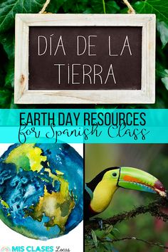 Earth day in Spanish Class - El medio ambienEarth day in Spanish Class - El medio ambiente resources from Mis Clases Locaste resources from Mis Clases Locas