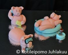 pigs at the beach cake - Google Search