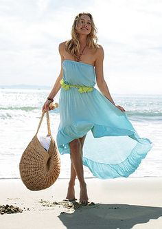 Gorgeous Beach Fashion from Frontgate.