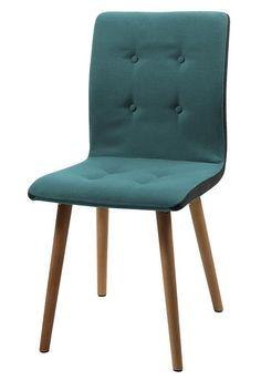 Faith eetkamerstoel blauw - Robin Design