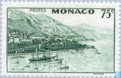 Monaco - View of the Principality 1938