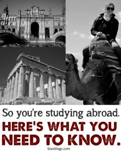Study Abroad Tips: What to Pack, What to Expect | Blair Blogs ... From someone who studied in Spain!