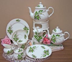 English Bone China Tea Set Tea Sets Imported from England