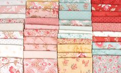 Printemps by 3 Sisters for Moda Fabrics - a romantic new fabric collection