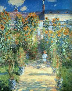 Oil paintings art gallery: Paintings By Claude Monet, (1840 - 1926) French painter