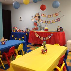Pinocchio Party Decorations by Pinworthy Parties