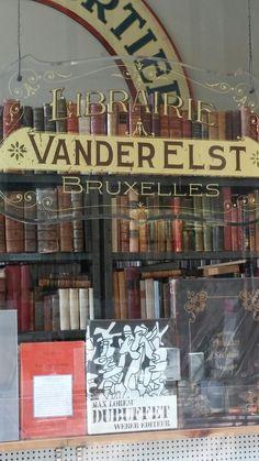 Vanderelst Bookshop ~ Brussels