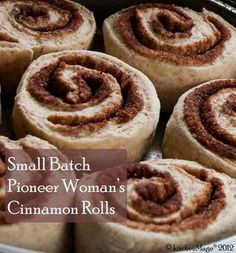 Ivy loves to bake. Cinnamon buns are one of her specialties. (picture courtesy kitchenmage)
