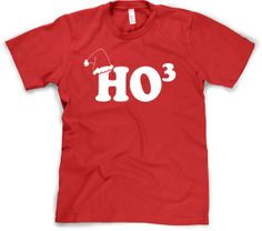 Ho Ho Ho shirt funny Christmas t shirt sizes S-3XL on Etsy, $14.99