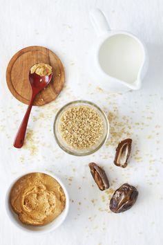 "Peanut Butter & Date ""Jelly"" Bulgur Wheat — Set the Table"
