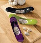Garlic Rocker crushes garlic without squeezing.