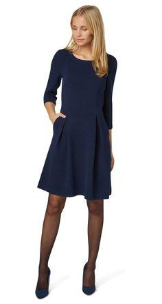 Feminine, textured dress - feminine structure dress from TOM TAILOR