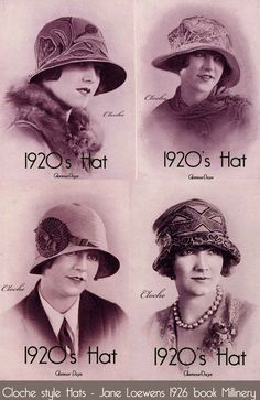 The Cloche Hat - How to Wear 1920 s Style 93e8e4804882