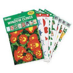 Seasonal Window Clings Pack - Clings from SmileMakers