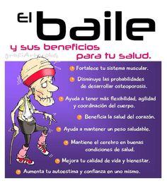 ¿Conoces todos los #beneficios del #baile para la #salud?