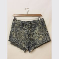 Free people shorts Free people high waisted denim shorts. Free People Shorts Jean Shorts