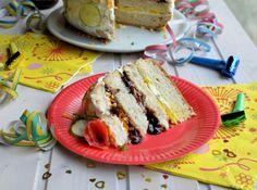 """Smorgastarta"" (Swedish Savoury Sandwich Gateau) for National Sandwich Day"