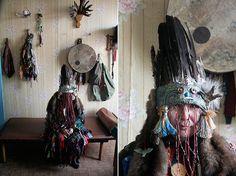 Tuva shaman by antufev, via Flickr