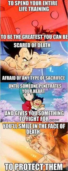 good one #vegeta #prince of all saiyans #dragon ball z #bulma