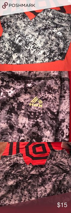 RBX workout Capris These are super cute patterned workout pants! They are great for working out or for running errands RBX Pants Capris