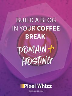 A Pixel Whizz blog challenge aimed to help you create a brand new blog in a matter of hours. This post will focus on setting up a domain name, choosing a hosting provider and discussing why we'll be using Wordpress to power our blog.