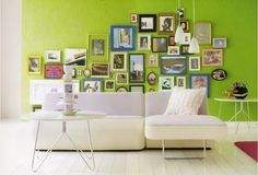 Picture wall, GREEN wall!