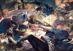 The battle to the death by kawacy on DeviantArt