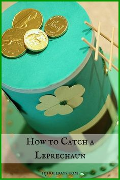 How to Catch a Leprechaun - Holly Jolly Holidays Diy Craft Projects, School Projects, Diy Crafts, Holiday Activities, Holiday Crafts, Holiday Ideas, St Paddys Day, St Patricks Day, Leprechaun Trap