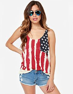 Southstore Women's Fashion Chiffon Flag Pattern Vest 8122. Get Unbeatable discounts up to 80% Off at Light in the Box with Coupon and Promo Codes.