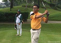 AKARPADINEWS.COM | KECINTAAN Dedy Irianto pada olahraga golf tumbuh saat kali pertama menginjak kaki di lapangan golf tahun 1993. Kala itu, sebagian khalayak menganggap golf adalah olahraga kalangan elit.