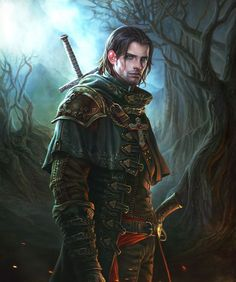 Legend Of The Cryptids Picture illustration, fantasy, warrior, steampunk) Fantasy Warrior, Fantasy Male, Fantasy Rpg, Medieval Fantasy, Fantasy Artwork, Dark Fantasy, Fantasy Fighter, Dnd Characters, Fantasy Characters