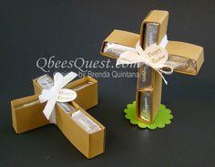 Qbee's Quest: Hershey's Cross Tutorial