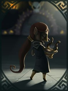 Wind Waker - Sage of the Earth Temple, Meldi <3