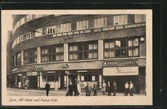 JENA  CA: 1950er Jahre am Holzmarkt HO  Palastheater (Kino) Jena, Vintage Photos, Weimar, Erfurt, Viajes, Vintage Photography