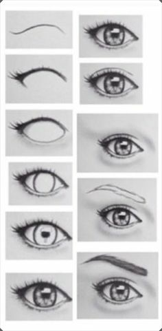 Practically Explained Different Eye Drawing Techniques 1 - Art Drawings Realistic Eye Drawing, Drawing Eyes, Painting & Drawing, Pencil Painting, Pencil Drawings Of Eyes, Drawing Of An Eye, Human Eye Drawing, Eye Pencil Drawing, Human Anatomy Drawing