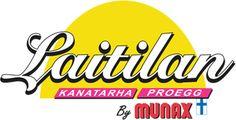 Laitilan Kanatarha ja Laitilan Proegg ovat Munax Oy:n aputoiminimiä. Kananmuna. Logos, School, Logo