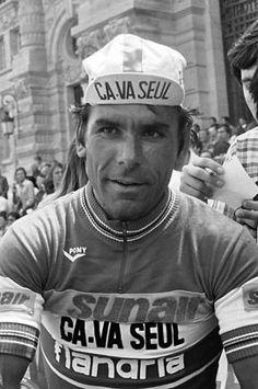 FLANDRIA HEROE | Joaquim Agostinho | 1942-1984 | Number of professional victories: 107 (Pic: Flandria 1978)