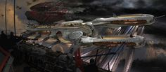 Ryan Church John Carter of Mars airship battle