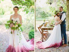 Que o branco ainda prevalece na escolha da cor do vestido de casamento, seja por tradição ou superstição, toda noiva já sabe. Mas este rígido costume está